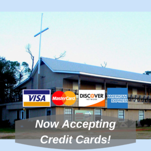 Now Available—Credit Card Payments!