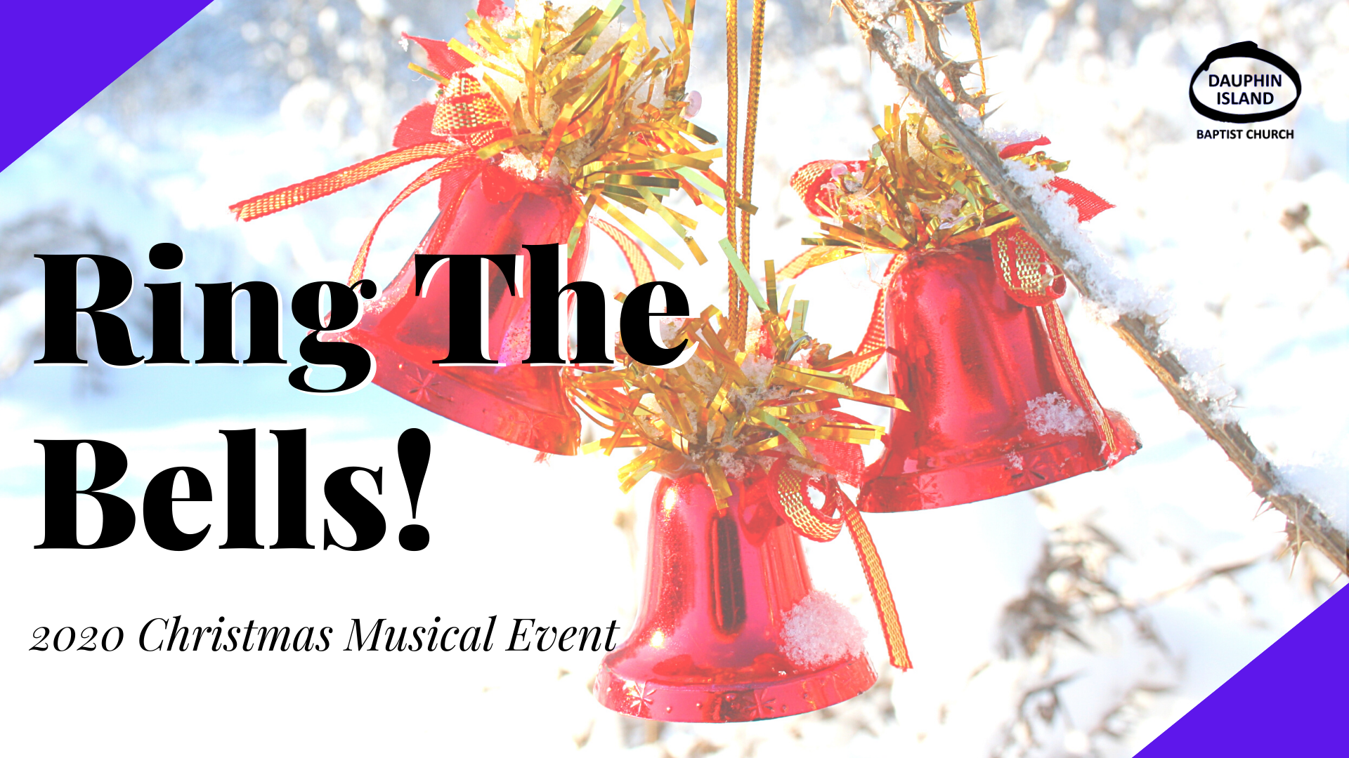 ProPresenter Christmas Musical - RING THE BELLS COVER PHOTO2